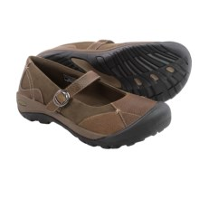 Keen Presidio Mary Jane Shoes - Leather (For Women) in Cascade Brown - Closeouts