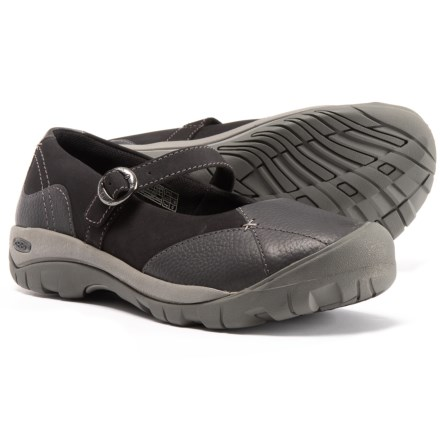 ca9d1ad2fcb1 Keen Presidio Mary Jane Shoes - Leather (For Women) in Magnet Steel Grey