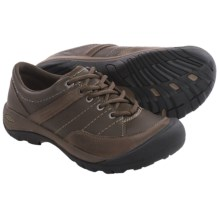 Keen Presidio Sport Leather Shoes (For Women) in Cascade Brown - Closeouts