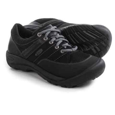 Keen Presidio Sport Mesh Sneakers - Waterproof (For Women) in Black - Closeouts