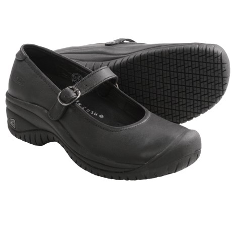 Keen PTC Mary Jane II Shoes - Leather (For Women) in Black