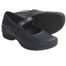 Keen PTC Mary Jane II Shoes - Leather (For Women) in Blue Nights - Closeouts