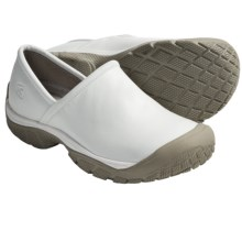 Keen PTC Slip-On II Shoes - Leather (For Men) in White - Closeouts