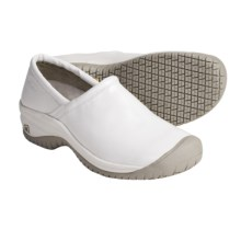 Keen PTC Slip-On Shoes - Leather (For Women) in White - Closeouts