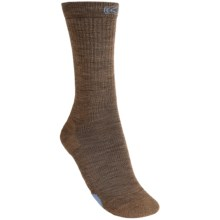 Keen PTC Utility Socks - Merino Wool, Crew (For Women) in Dark Earth/Current Blue - Closeouts