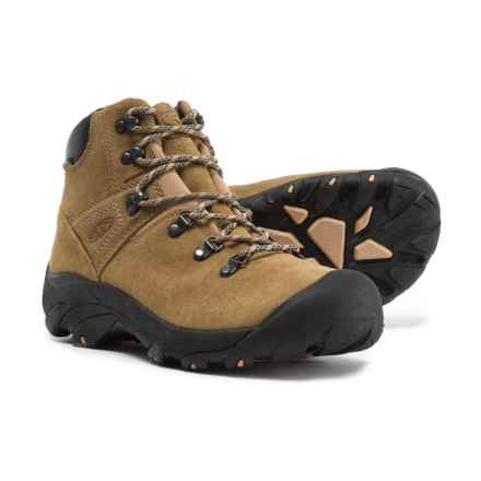 Keen Pyrenees Hiking Boots - Waterproof, Leather (For Men) in Latte - Closeouts