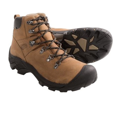 Keen Pyrenees Hiking Boots - Waterproof, Leather (For Women) in Syrup