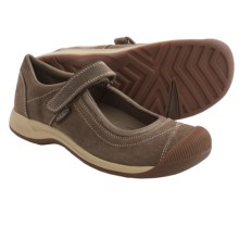 Keen Reisen Mary Jane Shoes - Nubuck (For Women) in Cascade Brown - Closeouts