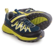 Keen Rendezvous Shoes (For Little and Big Kids) in Dress Blues/Bright Chartreuse - Closeouts