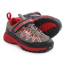 Keen Rendezvous Shoes (For Little and Big Kids) in Gargoyle/Racing Red - Closeouts