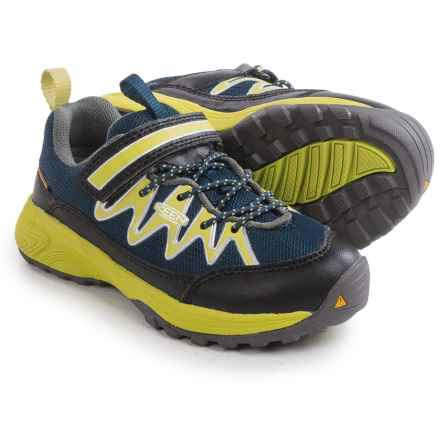 Keen Rendezvous Sneakers (For Toddlers) in Dress Blues/Bright Chartreuse - Closeouts