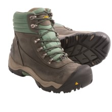 Keen Revel II Snow Boots - Waterproof, Insulated (For Women) in Raven/Comfry - Closeouts
