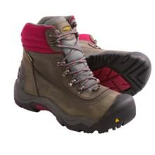 Keen Revel II Winter Boots - Waterproof, Insulated (For Women) in Gargoyle/Beet Red - Closeouts