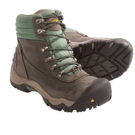 Keen Revel II Winter Boots - Waterproof, Insulated (For Women) in Coffee Bean/Burnt Henna