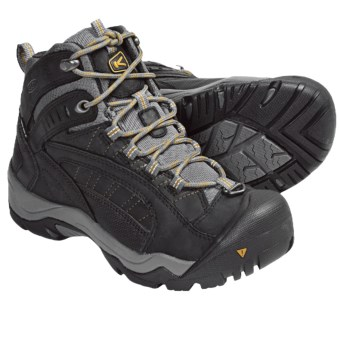 Keen Revel Winter Boots - Waterproof, Insulated (For Women) in Black/Tawny Olive