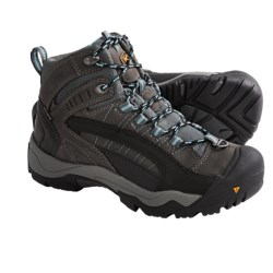 Keen Revel Winter Boots - Waterproof, Insulated (For Women) in Gargoyle/Azure Blue
