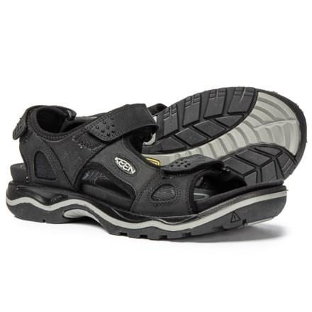 991dfffb46d5 Keen Rialto 3-Point Sandals (For Men) in Black Neutral Grey