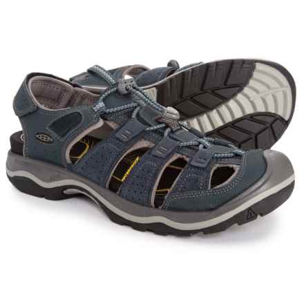 Keen Rialto H2 Sport Sandals (For Men) in Dress Blues/Neutral Gray - Closeouts