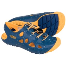 Keen Rio Sport Sandals (For Little and Big Kids) in True Blue/Yellow - Closeouts