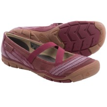 Keen Rivington CNX Criss-Cross Mary Jane Shoes (For Women) in Beet Red - Closeouts