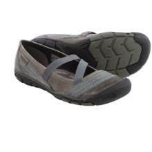 Keen Rivington CNX Criss-Cross Mary Jane Shoes (For Women) in Neutral Grey - Closeouts