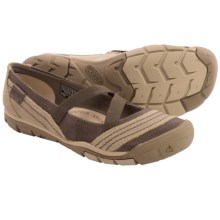 Keen Rivington CNX Criss-Cross Mary Jane Shoes (For Women) in Shitake - Closeouts