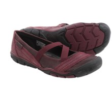 Keen Rivington CNX Criss-Cross Mary Jane Shoes (For Women) in Zinfandel - Closeouts