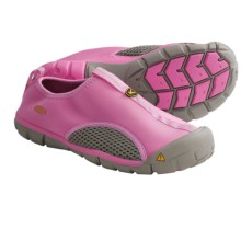 Keen Rockbrook CNX Water Shoes - Slip-Ons (For Big Kids) in Wild Orchid/Neutral Grey - Closeouts