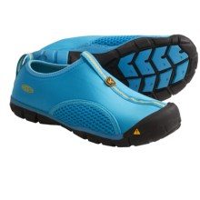 Keen Rockbrook CNX Water Shoes - Slip-Ons (For Youth Boys and Girls) in Vivid Blue/Yellow - Closeouts