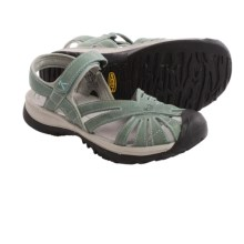 Keen Rose Leather Sandals (For Women) in Mineral Blue/Neutral Grey - Closeouts