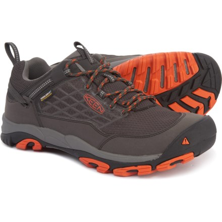 2a083dfaaa7 Keen Saltzman Hiking Boots - Waterproof (For Men) in Raven/Koi - Closeouts