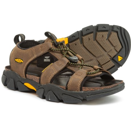 Keen Sarasota Sandals - Leather (For Women) in Bison