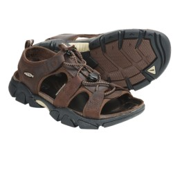 Keen Sarasota Sandals - Leather (For Women) in Friar Brown
