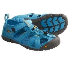 Keen Seacamp CNX Sandals (For Kids) in Vivid Blue/Yellow - Closeouts