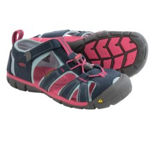 Keen Seacamp II CNX Sport Sandals (For Little and Big Kids) in Midnight Navy/Corydalis Blue - Closeouts