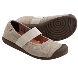 Keen Sienna Mary Jane Shoes - Canvas (For Women) in Aluminum