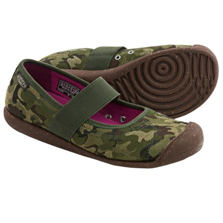 Keen Sienna Mary Jane Shoes - Canvas (For Women) in Camo Print