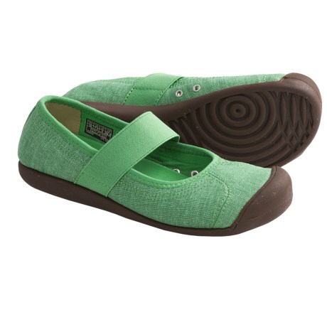 Keen Sienna Mary Jane Shoes - Canvas (For Women) in Greenbriar
