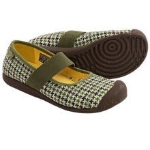 Keen Sienna Mary Jane Shoes - Canvas (For Women) in Loden Print - Closeouts