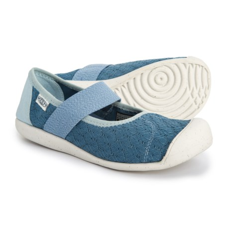 f493889189a Keen Sienna Mary Jane Shoes - Canvas (For Women) in Provincial Blue Sterling