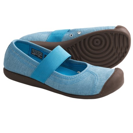 Keen Sienna Mary Jane Shoes - Canvas (For Women) in Vivid Blue