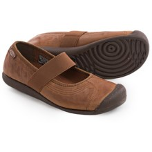 Keen Sienna Mary Jane Shoes - Leather (For Women) in Tortoise Shell - Closeouts