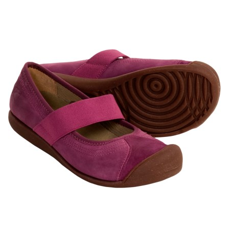Keen Sienna Mary Jane Shoes - Leather (For Women) in Violet/Quartz
