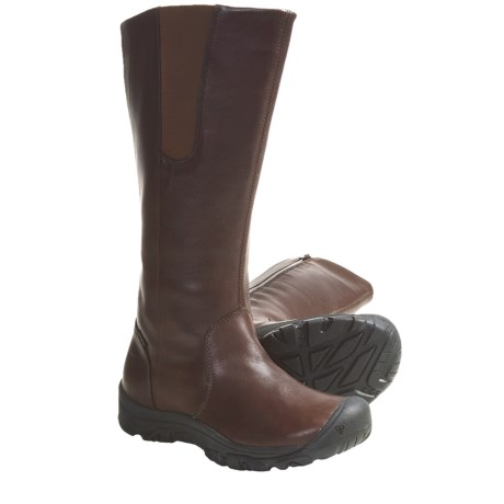 Keen Silverton Leather Boots - Waterproof, Leather (For Women) in Java