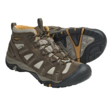 Keen Siskiyou Mid Hiking Boots - Waterproof (For Men) in Black Olive/Harvest - Closeouts