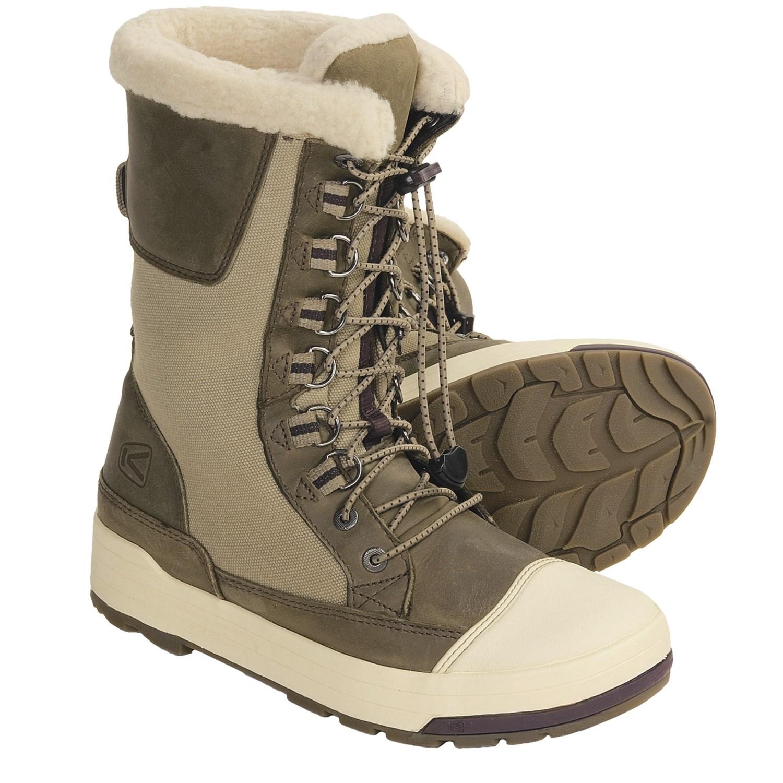 Itasca Alaska Womens Insulated Winter Snow Boots | Santa Barbara
