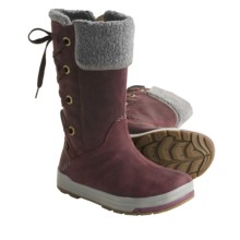 Keen Snowmass High Boots - Waterproof, Faux-Shearling Lining (For Women) in Mauve Wine/Gargoyle - Closeouts