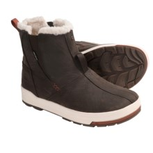 Keen Snowmass Mid Winter Boots - Waterproof, Faux-Shearling Lining (For Women) in Slate Black/Rust - Closeouts