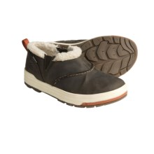 Keen Snowmass Shoes - Waterproof, Leather, Slip-Ons (For Women) in Slate Black/Rust - Closeouts
