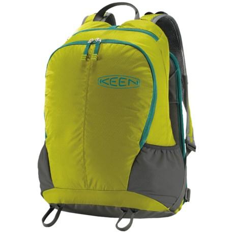Keen Springer Backseat Backpack in Dark Citron